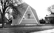 Broadbridge Heath, The Church Of St John c.1965