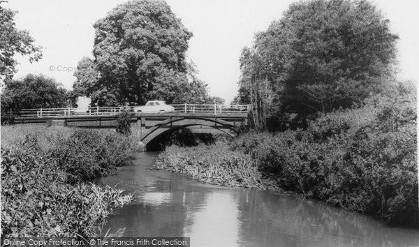 Broadbridge Heath, The River And The Bridge c.1965