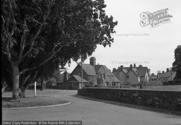 Broadclyst, The Village From The Church 1951