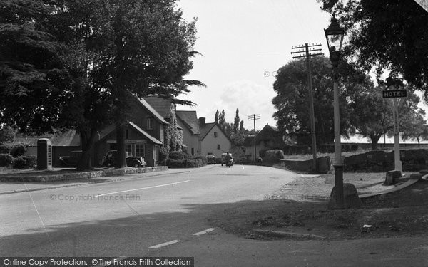 Broadclyst, The Village, Plymouth Road 1950