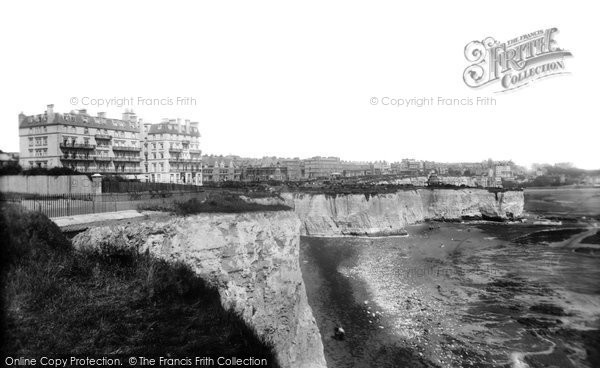 Photo of Broadstairs, and Grand Hotel 1899