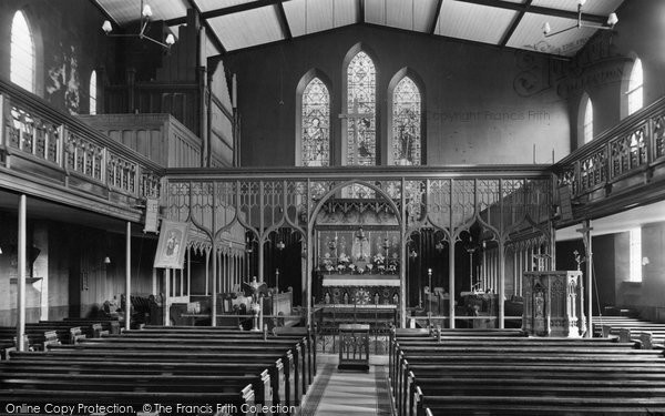 Broadstairs, Church Interior 1912
