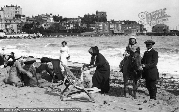 Broadstairs, Fun On The Sands 1912