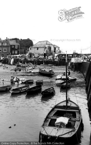Broadstairs, Jetty And Boathouse c.1960