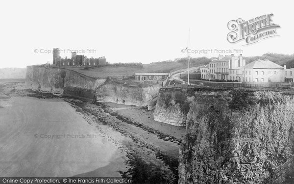 Broadstairs, Kingsgate Castle c.1880