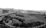 Broadstairs, Park And Beach 1899