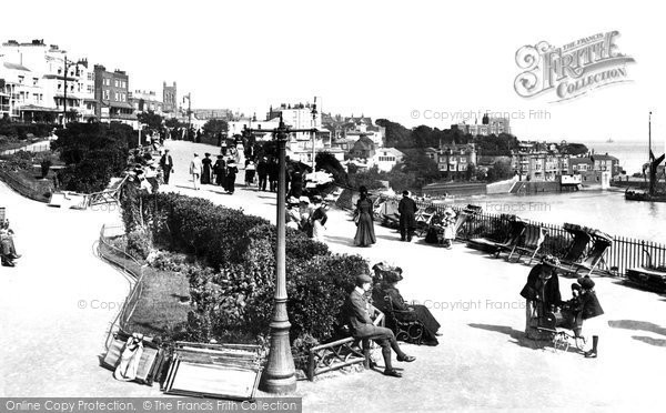 Broadstairs, Promenade 1902