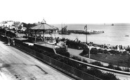 Broadstairs, Promenade And Bandstand 1902