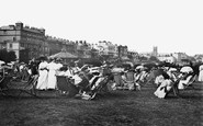 Broadstairs, The Bandstand And Promenade 1907