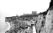 Broadstairs, The Beach 1918