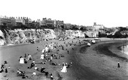 Broadstairs, The Beach From The Cliffs 1897