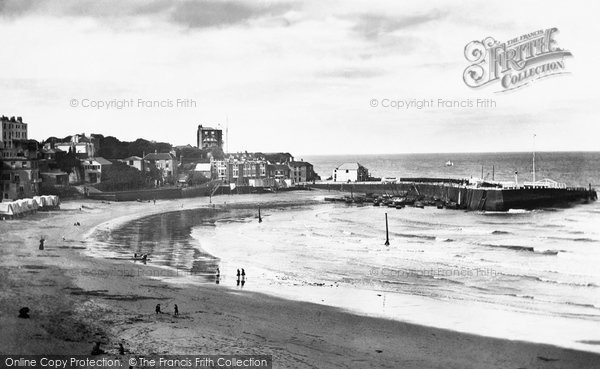 Photo of Broadstairs, the Harbour 1887