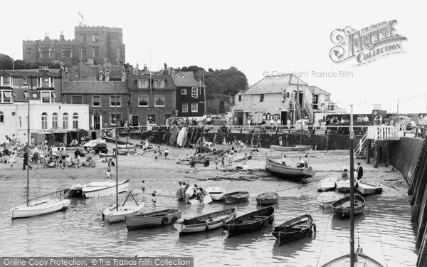 Broadstairs, The Harbour c.1960