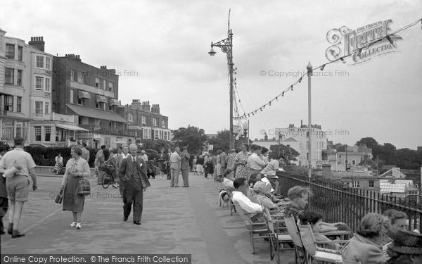 Broadstairs, The Promenade 1951