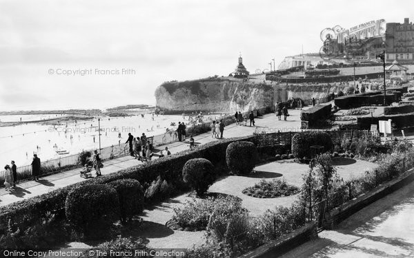 Broadstairs, The Promenade c.1950