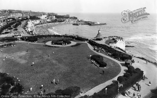Photo of Broadstairs, Victoria Gardens c1950