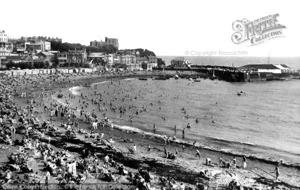 Broadstairs, Viking Bay c.1947