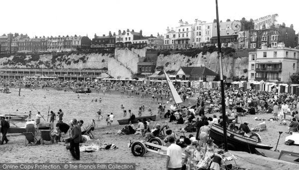 Broadstairs, Viking Bay c.1956