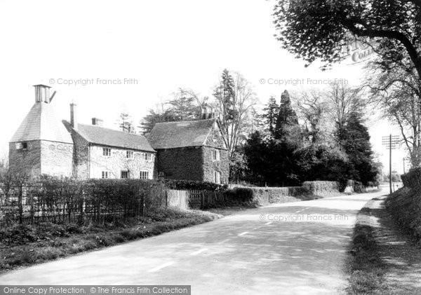 Broadwas, The Village c.1955