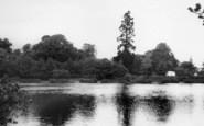 Broadwater, Brooklands Park Lake 1965