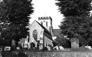 Broadwater, Parish Church 1954