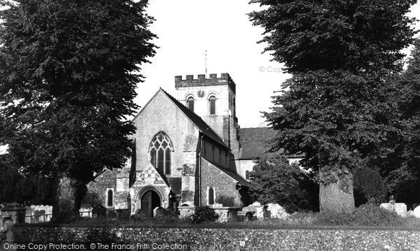 Broadwater, St Mary's Church 1954