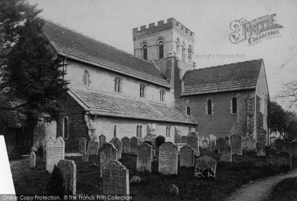 Broadwater, St Mary's Parish Church 1895