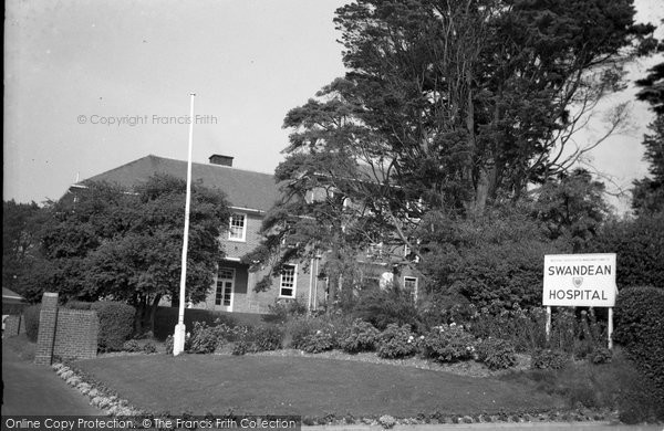 Broadwater, Swandean Hospital 1963