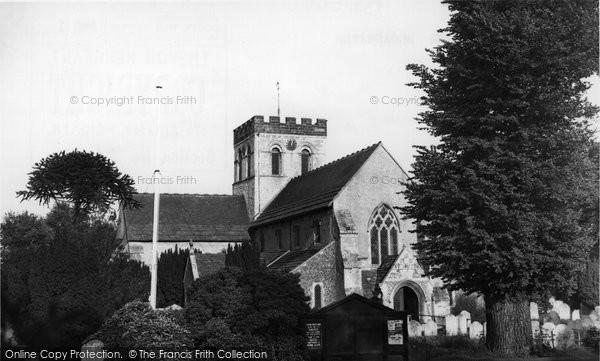 Broadwater, The Parish Church 1954