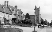 Broadway, Church Of St Michael And All Angels c.1955