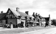 Broadway, Elizabethan Cottages c.1955