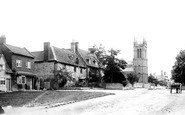 Broadway, The Village & St Michael And All Angels Church 1899