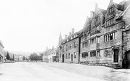 Broadway, Tudor House 1899