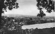 Broadway, View From The Hill c.1955