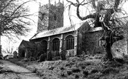 Broadwoodwidger, St Nicholas' Church c.1950