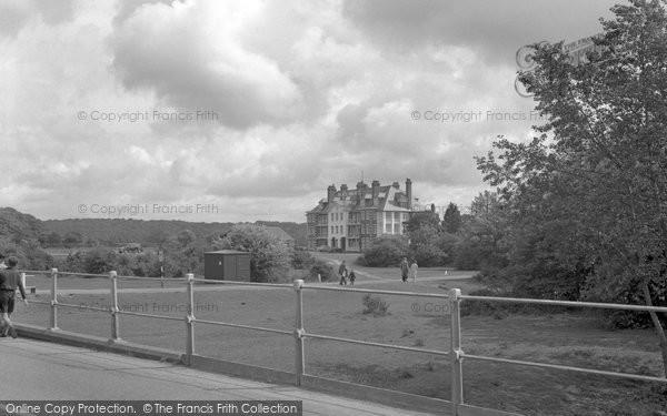 Brockenhurst, Balmer Lawn Hotel 1954