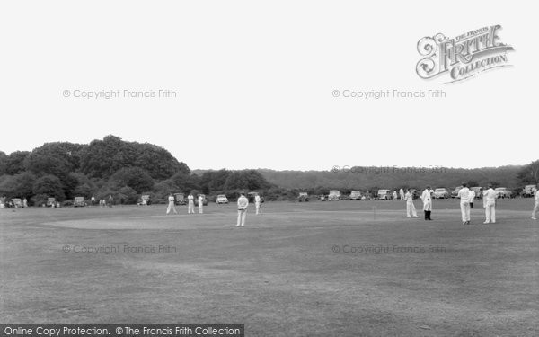 Brockenhurst, Cricket At Balmer Lawn 1960