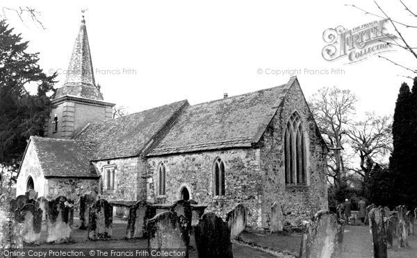 Brockenhurst, St Nicholas' Church 1959