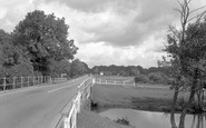 Brockenhurst, The River 1954