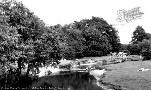 Brockenhurst, The River, Balmer Lawn 1960