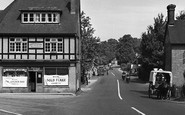 Brockenhurst, Village Shop And Delivery Cart 1949