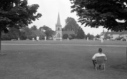 Brockham, Cricket On The Green 1968