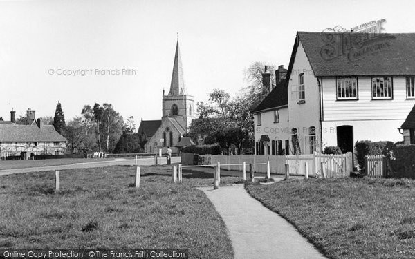 Brockham, Green 1949