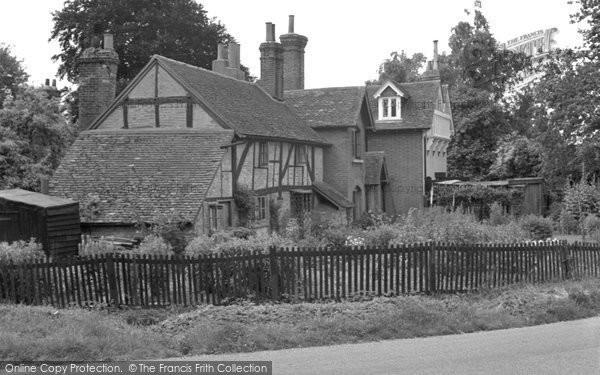 Brockham, Green, Old Houses 1949