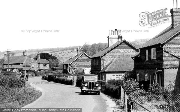 Brockham, Old School Lane 1958