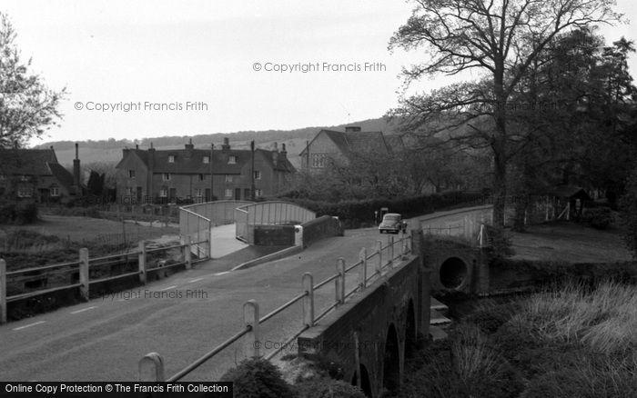 Brockham, The Bridge 1958