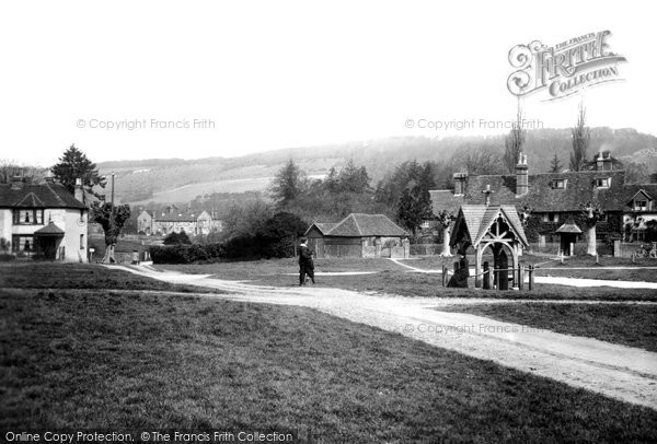 Brockham, The Green 1906