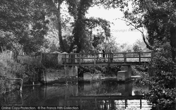 Brockham, The River Mole 1949