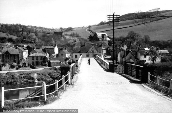 Brockweir, The Bridge c.1955