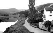 Brockweir, The River Wye c.1955